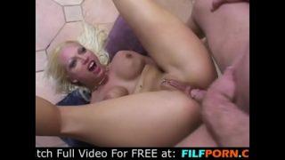 Anal training for cheating blonde slut (Nicki Hunter)