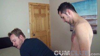 Cum Fucked! – Straight Guy Nails Gay Dude Hard & Raw – Men Fucking Bareback
